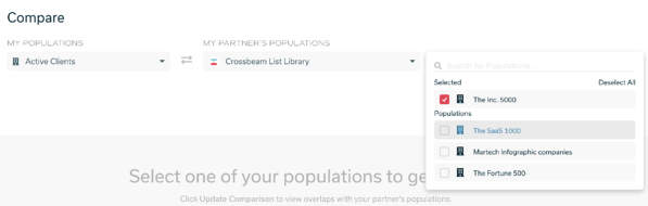 List Library Compare Page